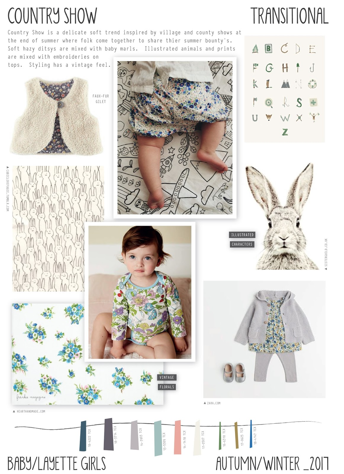 2017 aw fashion trend - Emily Kiddy Country Show Autumn Winter 2016 17 Baby