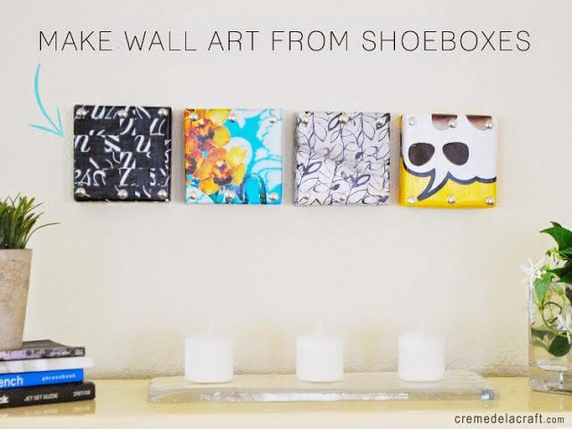 Jak zrobić prostą dekorację ściany z pomocą decoupage - tutorial DIY.