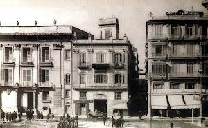 Plaza Emilio Castelar y calle de Cotanda.