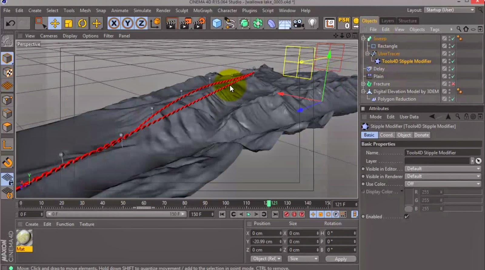 Character Design Cinema 4d Tutorial : Mapping dem data in cinema d tutorial cg tutorial