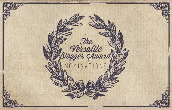 Versatile Blogger Award + mała 'chwalipiętka' ;)
