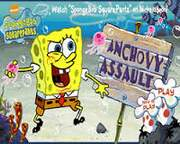 Anchovy Assault Spongebob Game Collections