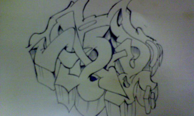 homework written in graffiti
