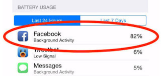 تطبيق الفيسبوك على الهواتف الذكية