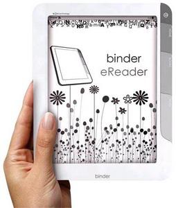 Sagem Wireless debuts Binder - a white-labelled eReader
