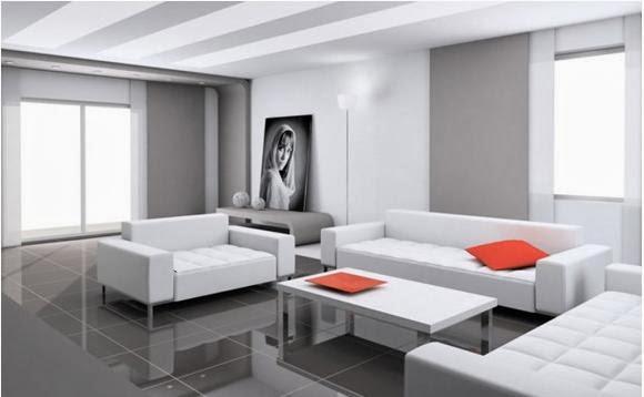 interior ruang tamu modern terbaru