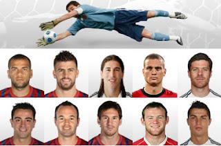 FIFA IDEAL 11 2011