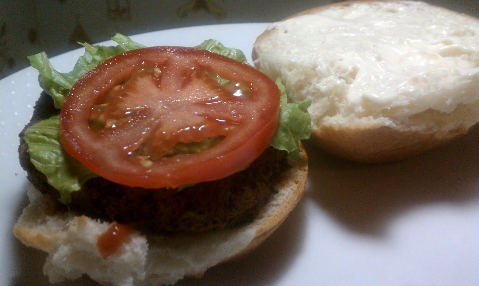 The Gluten Grapple: Baked Eggplant Burgers