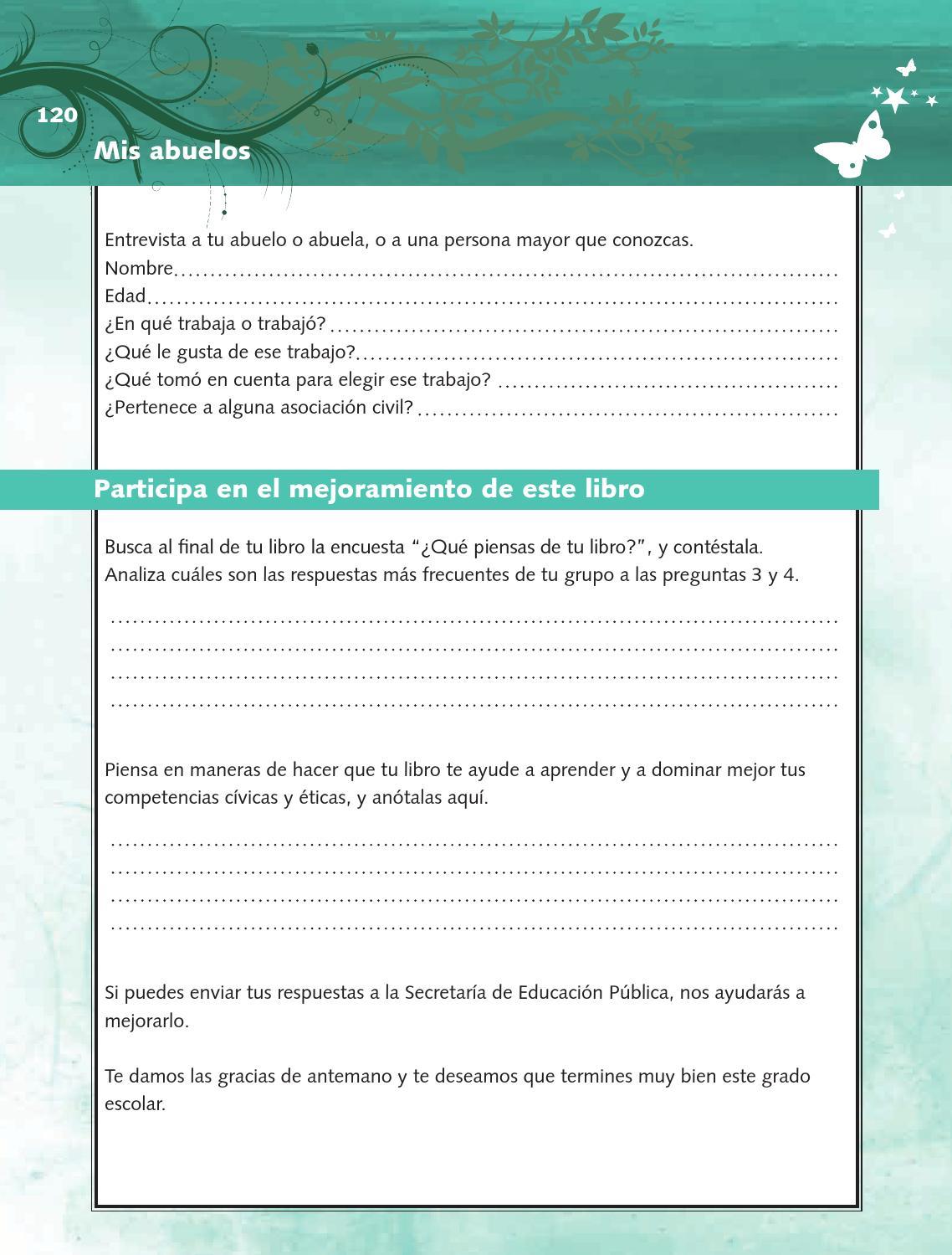 Ejercicios - Formación Cívica y Ética 4to Bloque 5 2014-2015
