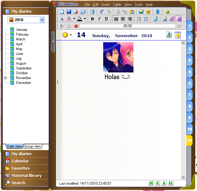 Diary Software Free Download 2014