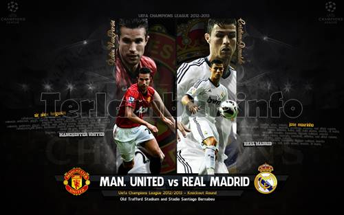Manchester United VS Real Madrid 2013