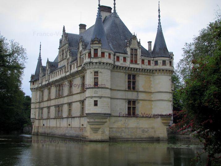 El blog de la loles independiente 2 castillo de azay le rideau castillos del loire - Castillo de azay le rideau ...