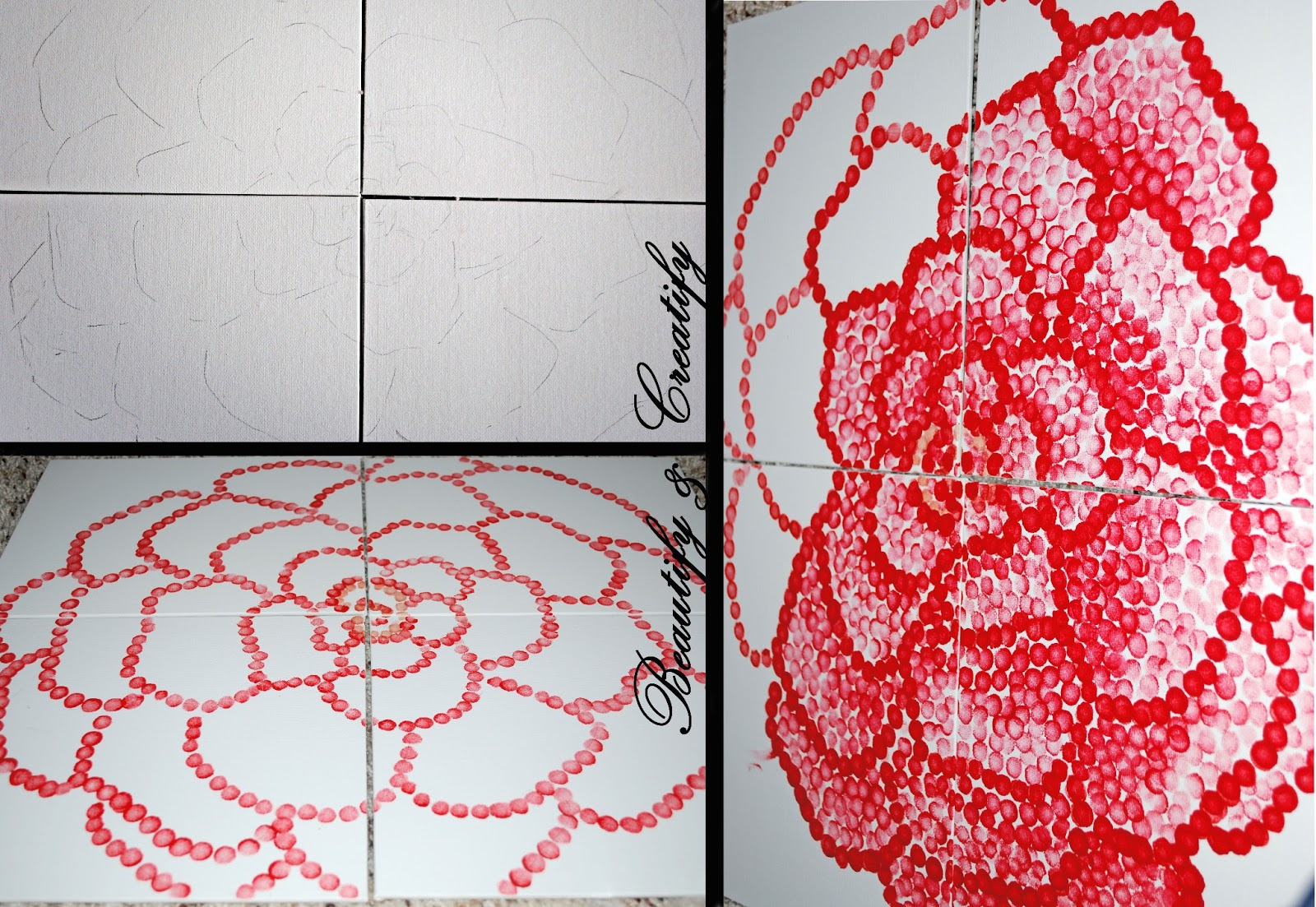 Beautify and creatify diy project wall art decor for Diy art projects for kids