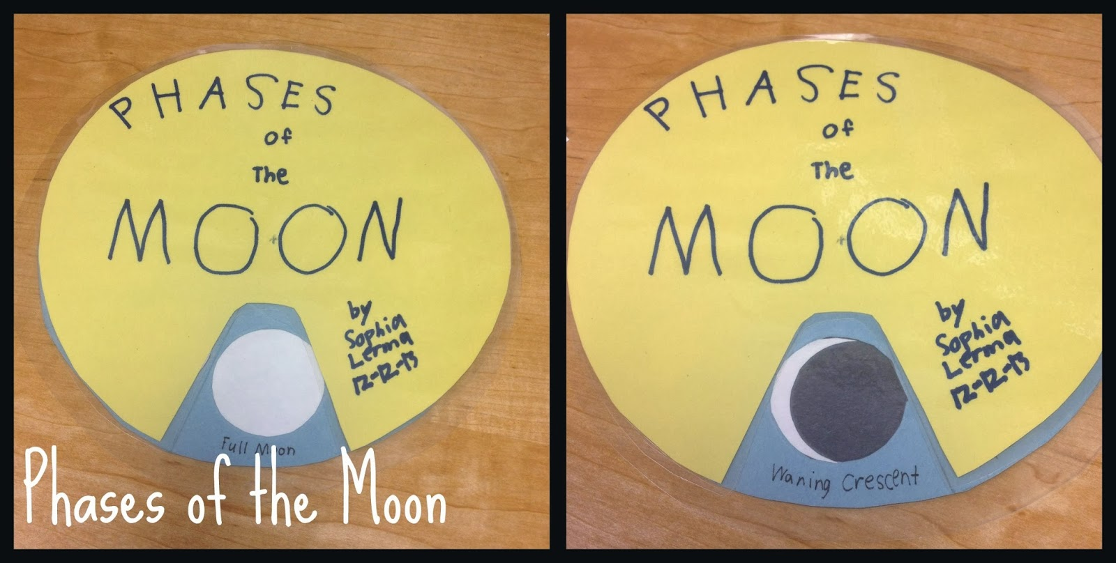 Phases of the moon and planets (Science U)