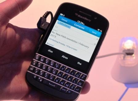 Harga dan Spesifikasi Blackberry Q10 Terbaru di Indonesia