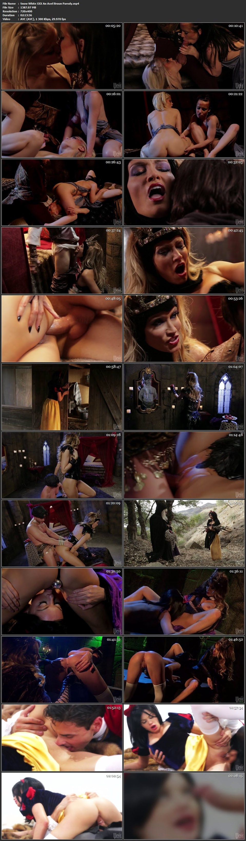 Free xxx rated snow white & the  cartoon clip