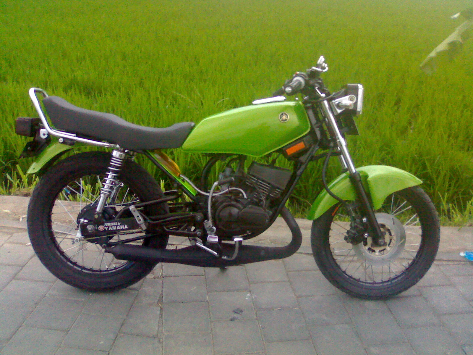 Yamaha RX King Modification