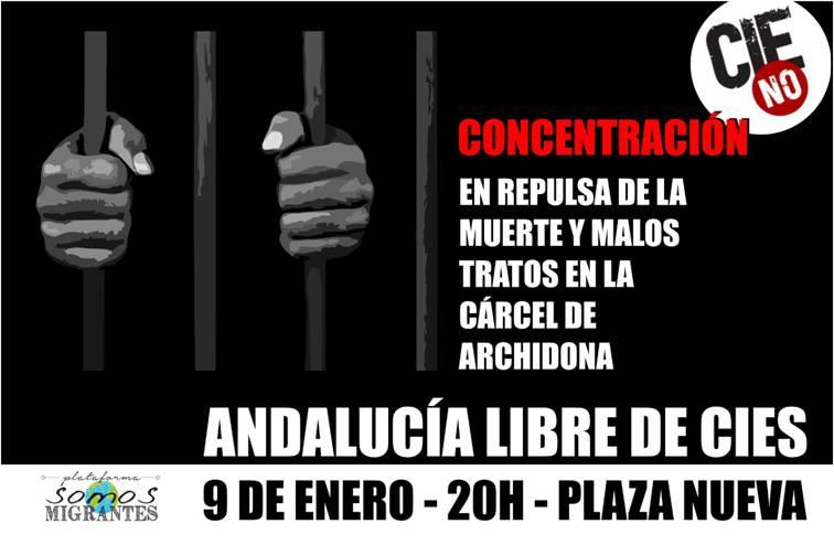 CONCENTRACIÓN: ANDALUCÍA LIBRE DE CIES.  9 DE ENERO, 20H, Plaza Nueva. Sevilla.