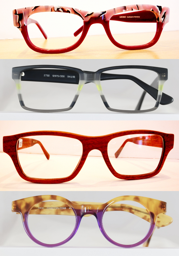 Fun, funky, colourful eyeglass frames