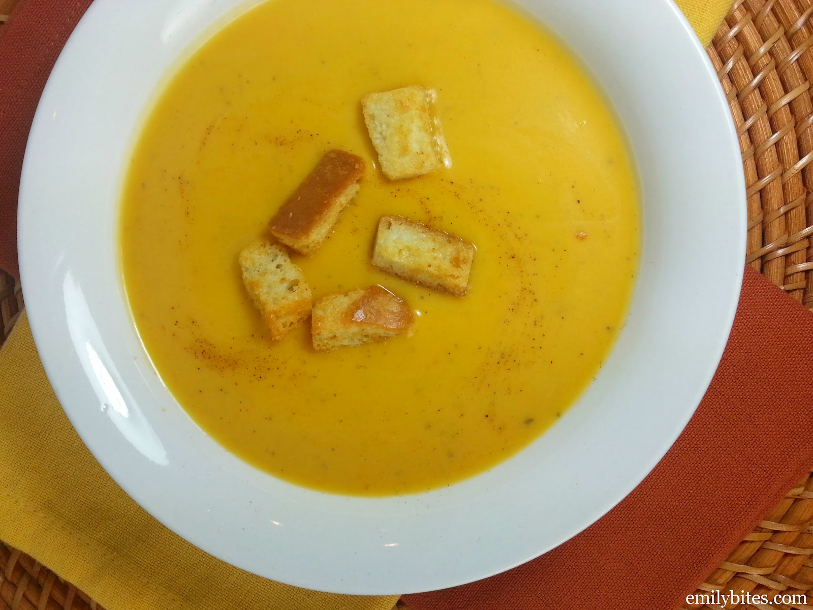 fiorentini with butternut squash velvety butternut squash soup recipe ...