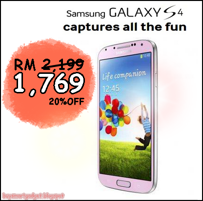 Wow Price reduced again for the original Samsung Galaxy S4 in Malaysia