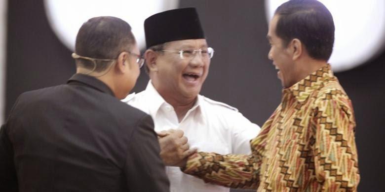 Joko widodo menemui Prabowo Subianto