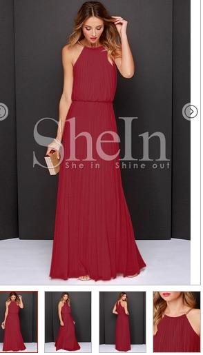 http://us.shein.com/Wine-Red-Sleeveless-Pleated-Maxi-Dress-p-199463-cat-1727.html