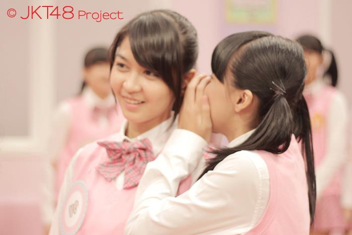 Galeri foto JKT48 : Ve dan CIndy