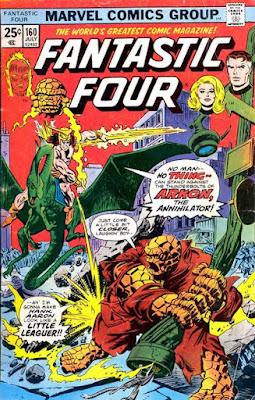 Fantastic Four #160, Arkon