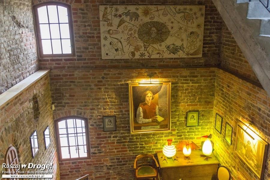 W wieży wodnej we Fromborku - kawa z Kopernikiem