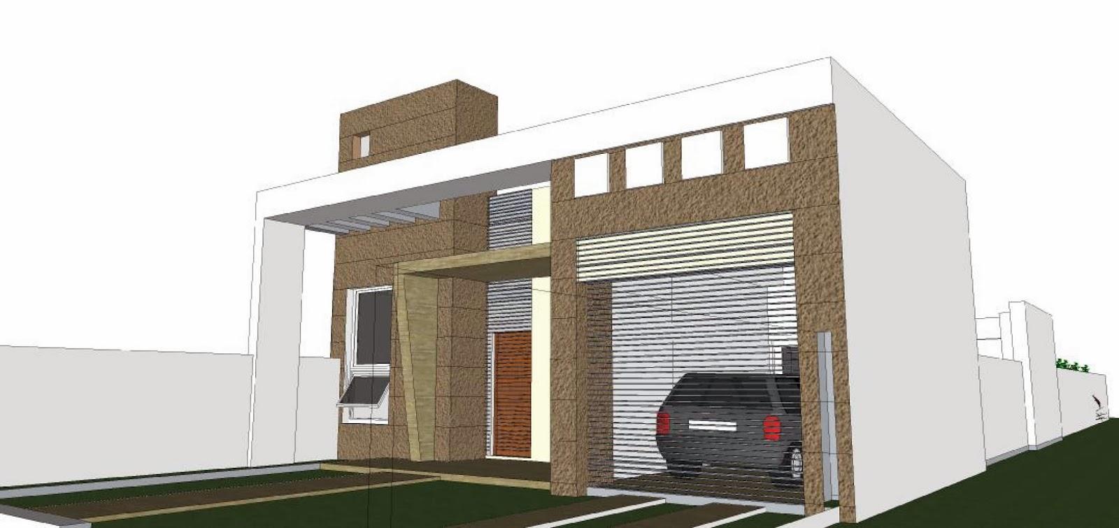Arquitecta miriam di leo dise o exterior vivienda for Diseno vivienda