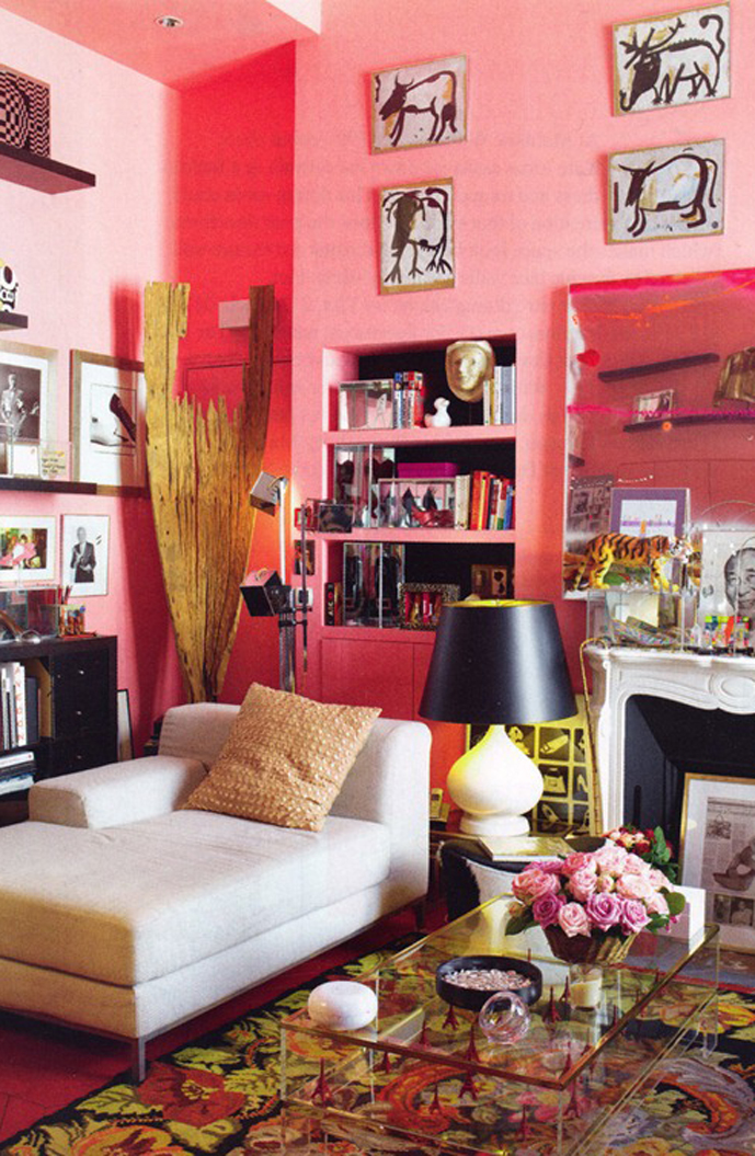 Ines de la Fressange studio apartment in Paris | Red Magazine March 2010