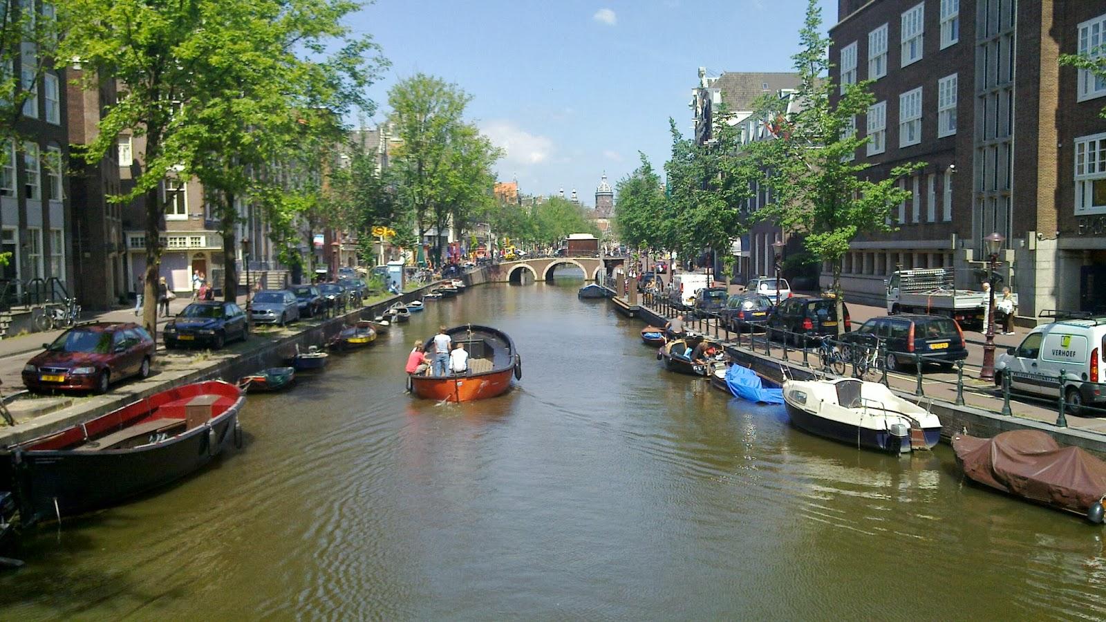 Los alojamientos en Amsterdam