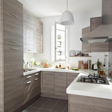 Dise os de cocinas castorama nueva colecci n 2013 - Disenos de cocinas rectangulares ...