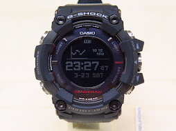CASIO G-SHOCK RANGEMAN GPR-B1000-1 - GPS TOUGH SOLAR