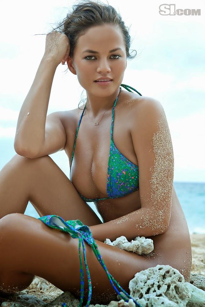 Chrissy Teigen, la segunda chica más sexy del mundo!! Exótica, explosiva, guapa y sensual. Chicas guapas 1x2.