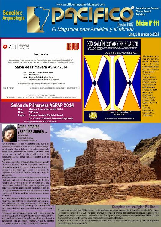 Revista Pacífico Nº 191 Arqueología