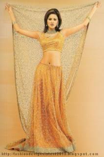 Bridal-Mehndi-Lehnga