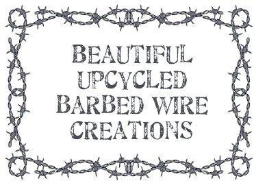Amazing Razor Wire Artwork Festooning - Electrical Diagram Ideas ...