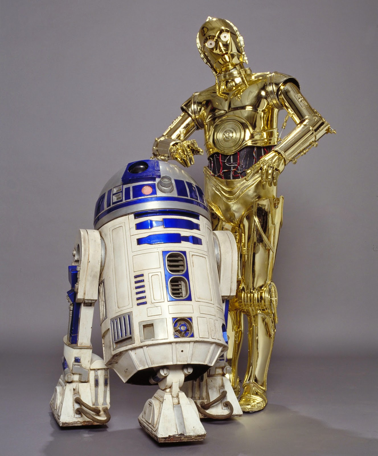 R2d2 And C3po In Movie Doodlecraft: Star Wars...
