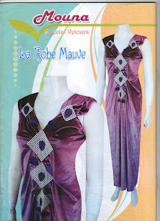 collection magazine mona gandoura catifa n1