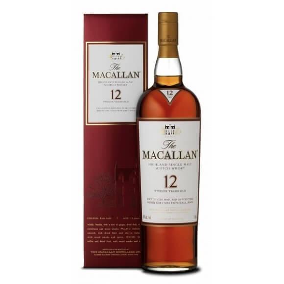 麥卡倫12年雪莉桶 Macallan (單一純麥威士忌)