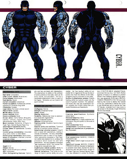 Ciber (ficha marvel comics)