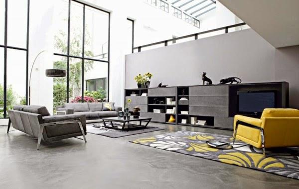 Conseils d co et relooking 28 id es pour un mobilier salon luxueux par roche bobois for Photos salons luxueux