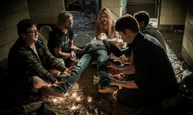 Exeter movie still levitation voodoo dark magic
