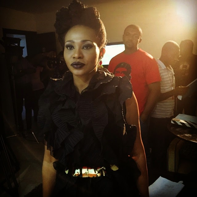 [Photos] Nse Ikpe Etim Is A Show Stopper For New Movie!