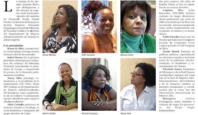 les femmes afrouruguayennes connaissent un taux de ch mage sup rieur la moyenne. Black Bedroom Furniture Sets. Home Design Ideas