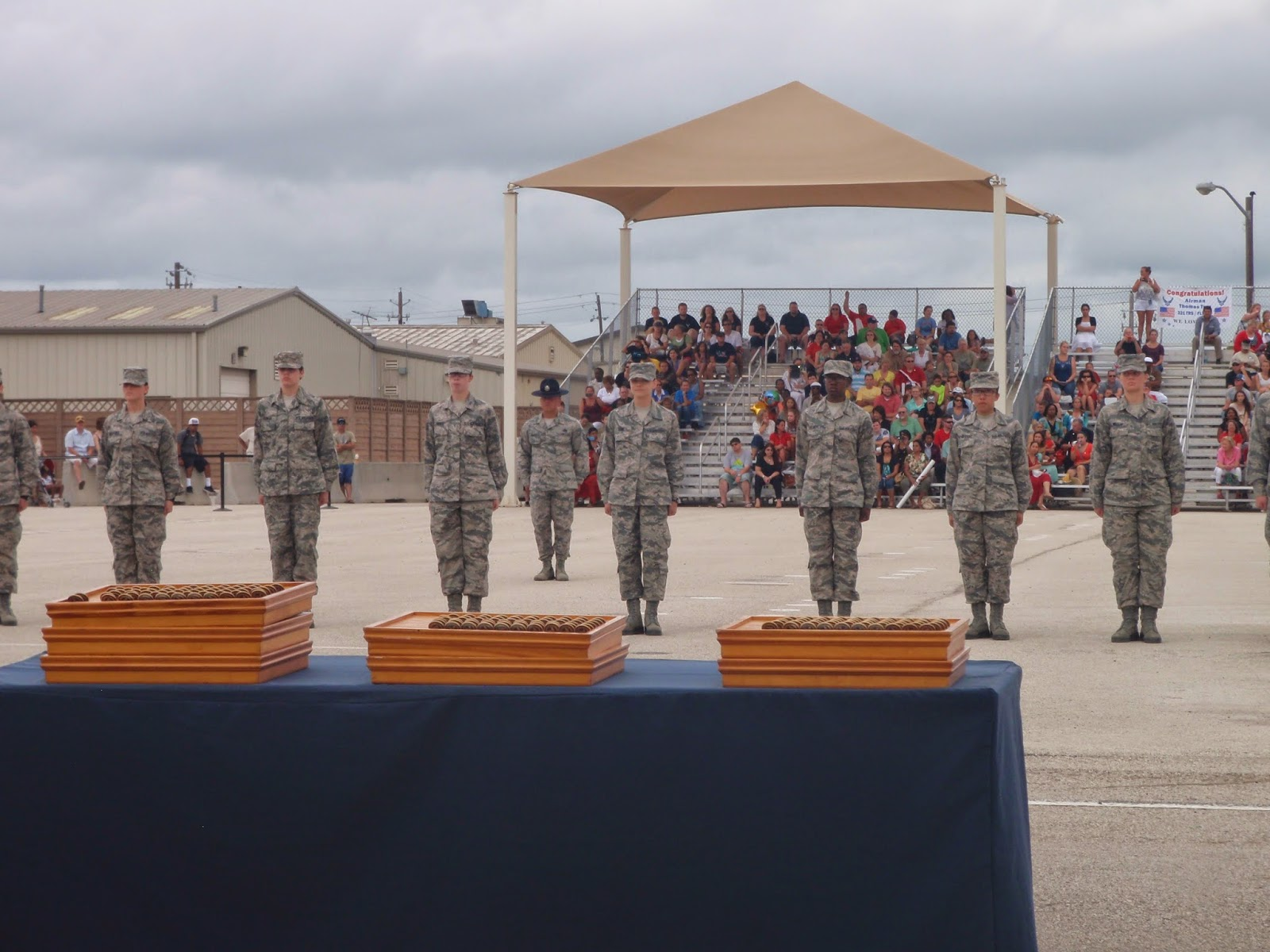 Air Force BMT Honor Graduate Ceremony