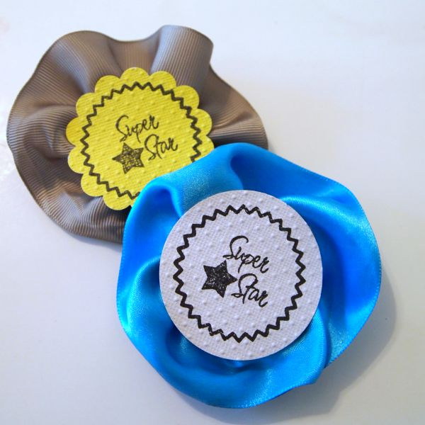 Quick and Easy Pins to make for no particular reason other than to say you're a Super Star! @PSAEssentials @mvemother