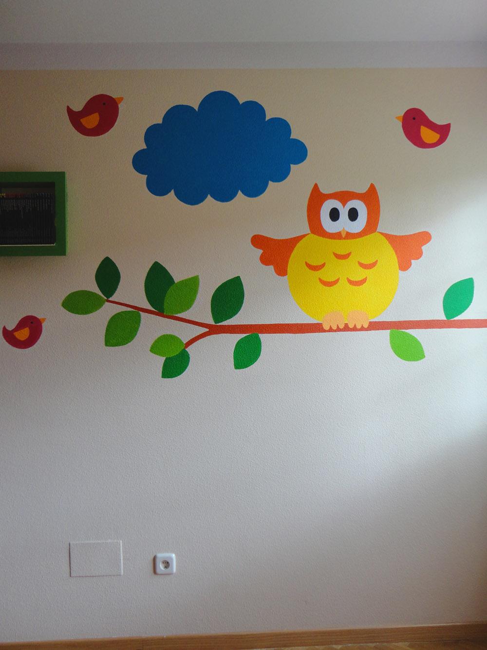 Decopared murales infantiles for Fotomurales infantiles para paredes